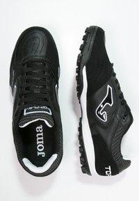 Joma - TOP FLEX TURF - Voetbalschoenen voor kunstgras - black - 1