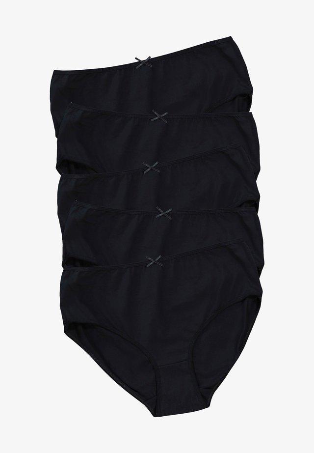5 PACK - Slip - schwarz