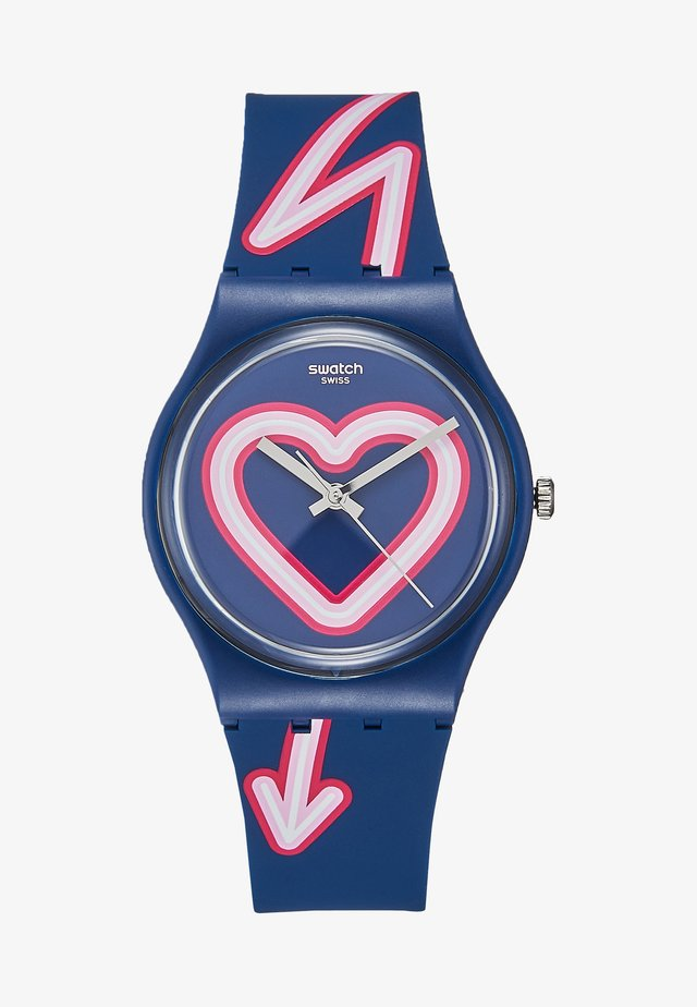 FLASH OF LOVE - Hodinky - blue