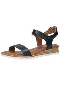 ara - Sandaletter med kilklack - blau - 1
