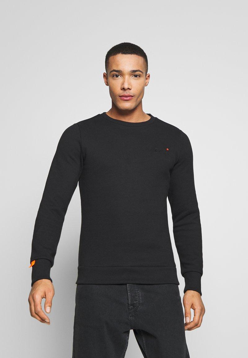 Superdry - ORANGE LABEL - Sweatshirt - black