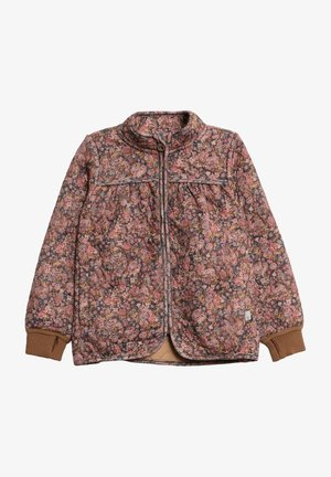 THILDE - Winter jacket - ink flowers