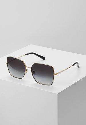 Sunglasses - gold-coloured/black