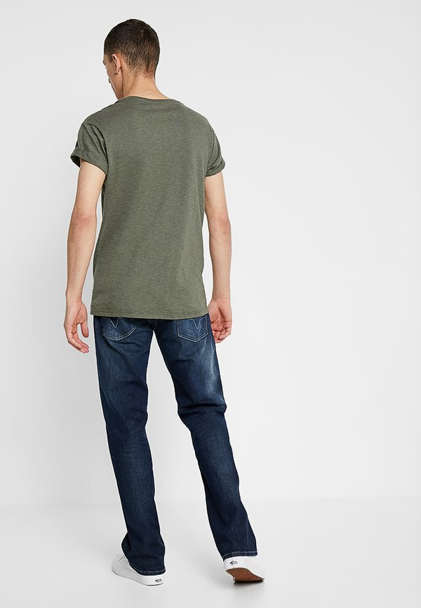 Pepe Jeans KINGSTON ZIP - Jeansy Straight Leg - blue/ciemnoniebieski Odzież Męska DNGK