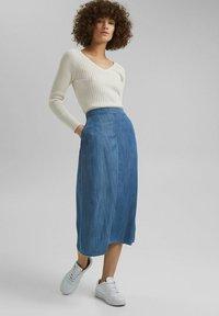 Esprit - Denim skirt - blue medium washed - 1