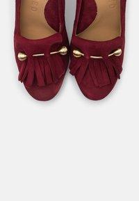 Selected Femme - SFMEL FRINGES - High heels - winetasting - 5