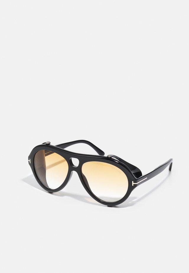 UNISEX - Occhiali da sole - shiny black/smoke