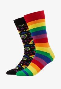 Happy Socks - PRIDE GIFT BOX 2 PACK - Socks - multi - 1