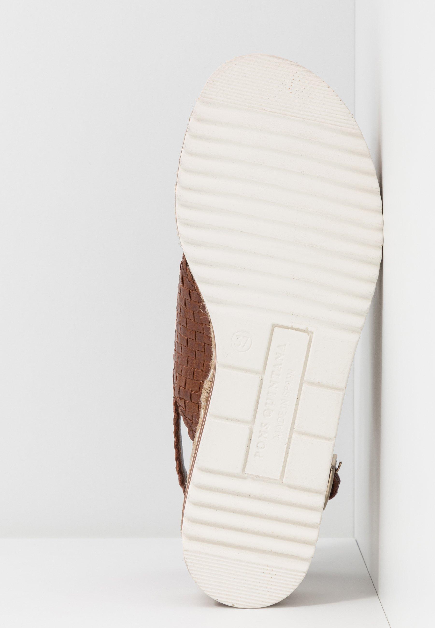 Il più economico Scarpe da Donna Pons Quintana Sandali con plateau toffee/cognac