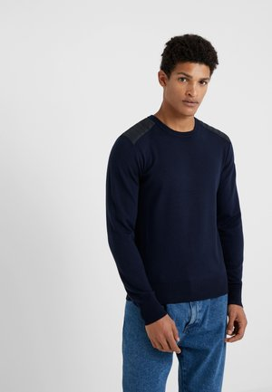 KERRIGAN CREW NECK - Maglione - washed navy