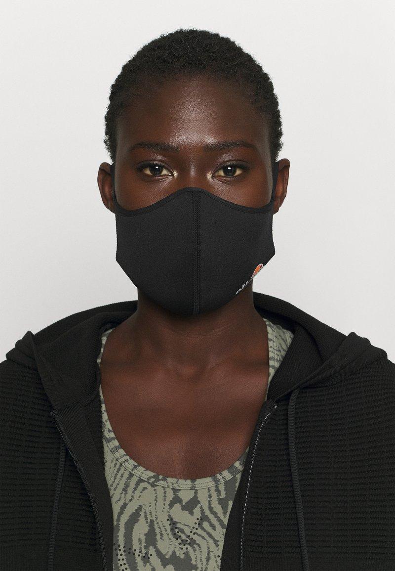 Ellesse - PALSITO FACE UNISEX 3 PACK - Stoffen mondkapje - black