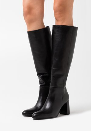DEBANUM - Vysoká obuv - noir