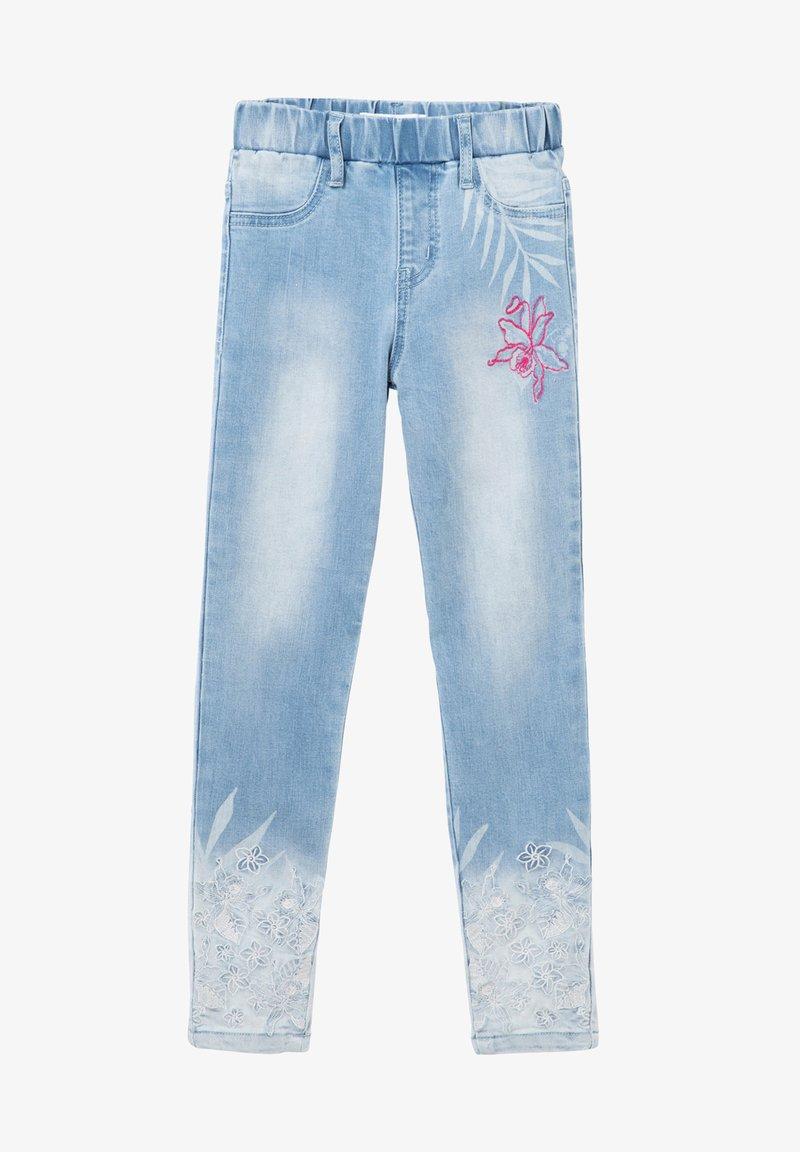 Desigual - Straight leg jeans - blue