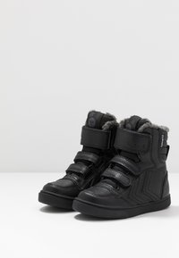 Hummel - STADIL SUPER TUMBLED  - High-top trainers - black