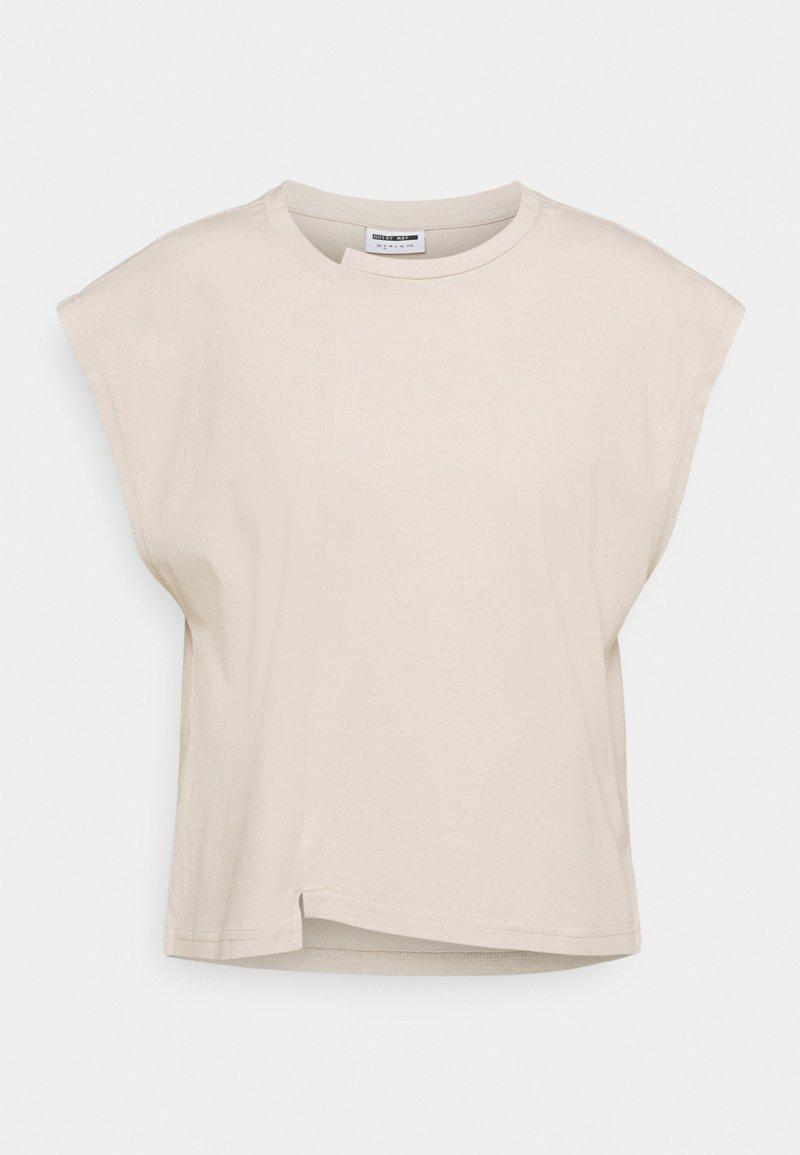 Noisy May Petite - NMDAPHNI - T-shirt print - chateau gray
