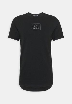 JPRBLA CORREL TEE  - T-shirt med print - black