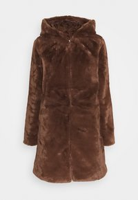 JDY - JDYTIT LONG - Classic coat - pinecone - 3