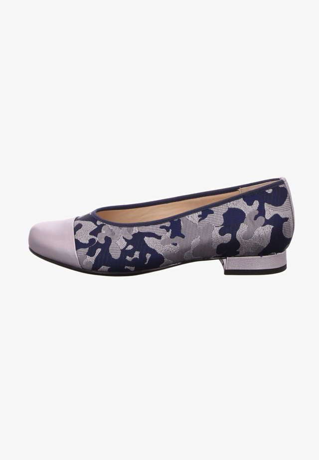 Ballet pumps - bluestone