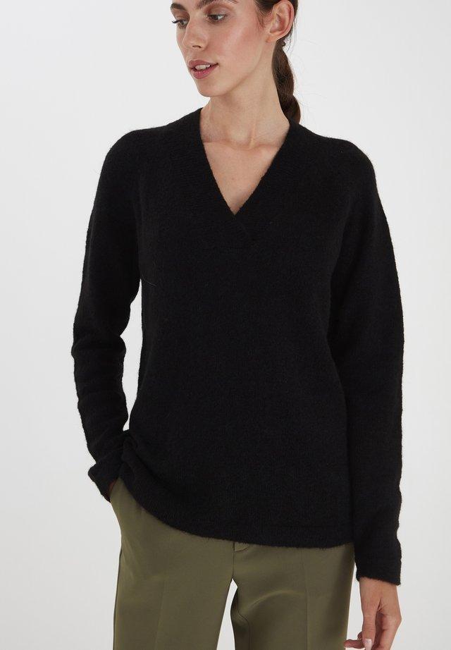 IHAMARA V  - Sweter - black