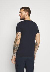 Icepeak - ALEDO - Print T-shirt - dark blue - 2