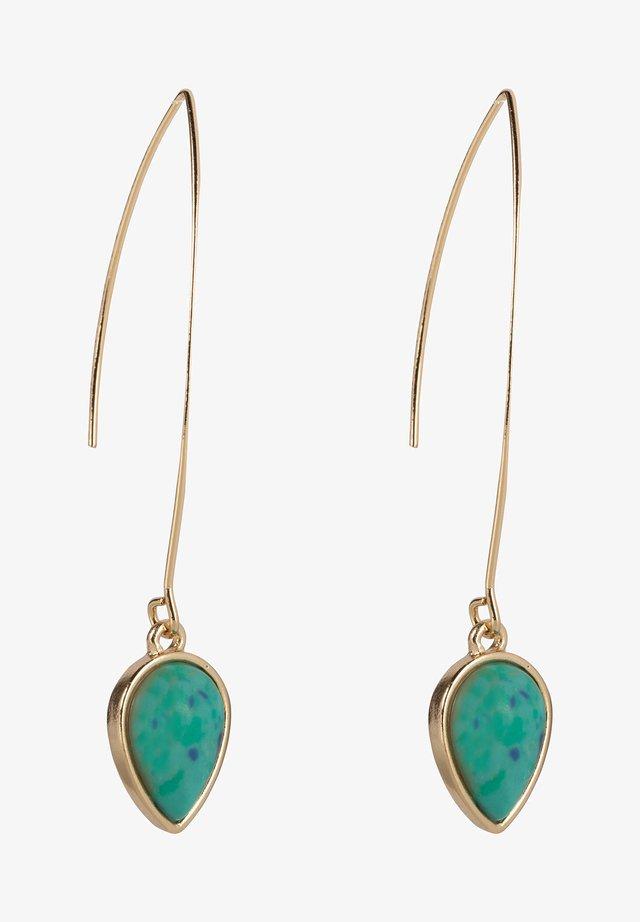 Boucles d'oreilles - turquoise