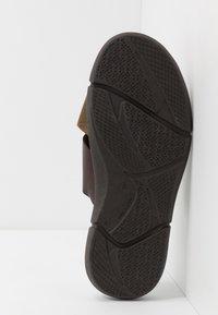 Barbour - ADAM  - Pantofle - olive/mocha - 4