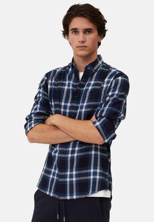 Shirt - blue multi check