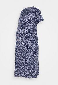 Cotton On - BUTTON FRONT MIDI DRESS - Košilové šaty - medieval blue - 0