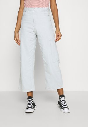 HIGH WAISTED CROP  - Jeansy Relaxed Fit - waste not
