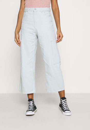 HIGH WAISTED CROP  - Džíny Relaxed Fit - waste not
