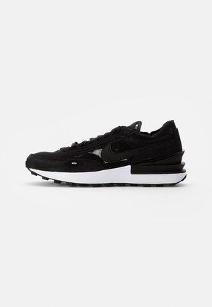 WAFFLE ONE - Sneakers - black/black-white-orange