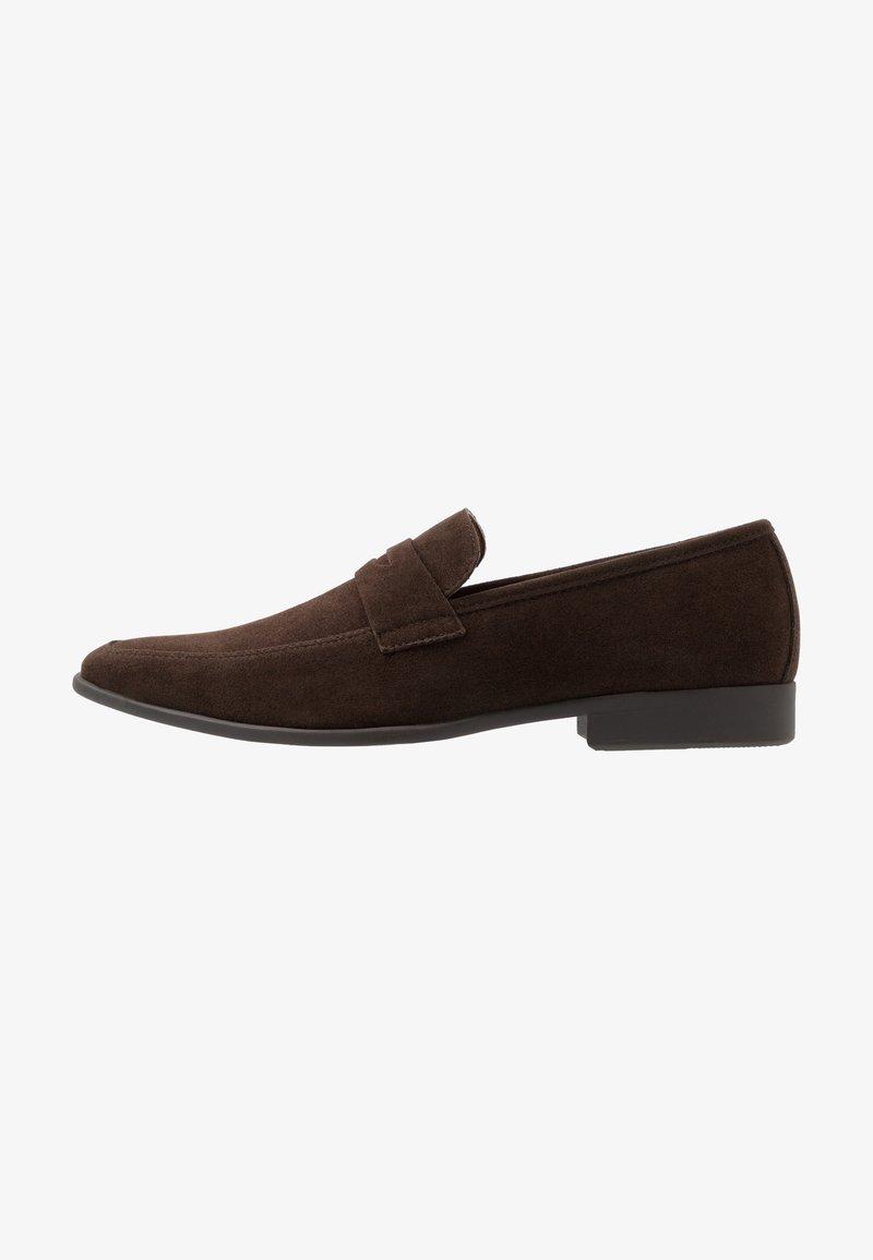 Pier One - Elegantní nazouvací boty - dark brown