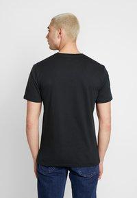 Volcom - STONE BLANKS  - Basic T-shirt - black - 2