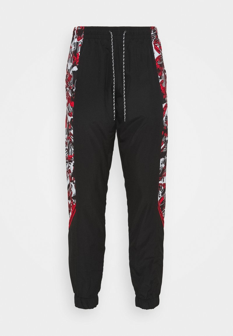 Puma - AC MAILAND PANTS - Club wear - tango red/black