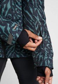 Brunotti - JUNGLEFOWL WOMEN SNOWJACKET - Snowboard jacket - pine grey - 8
