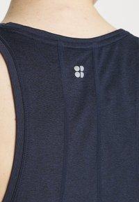 Sweaty Betty - ENERGISE WORKOUT - Funkční triko - navy blue - 4