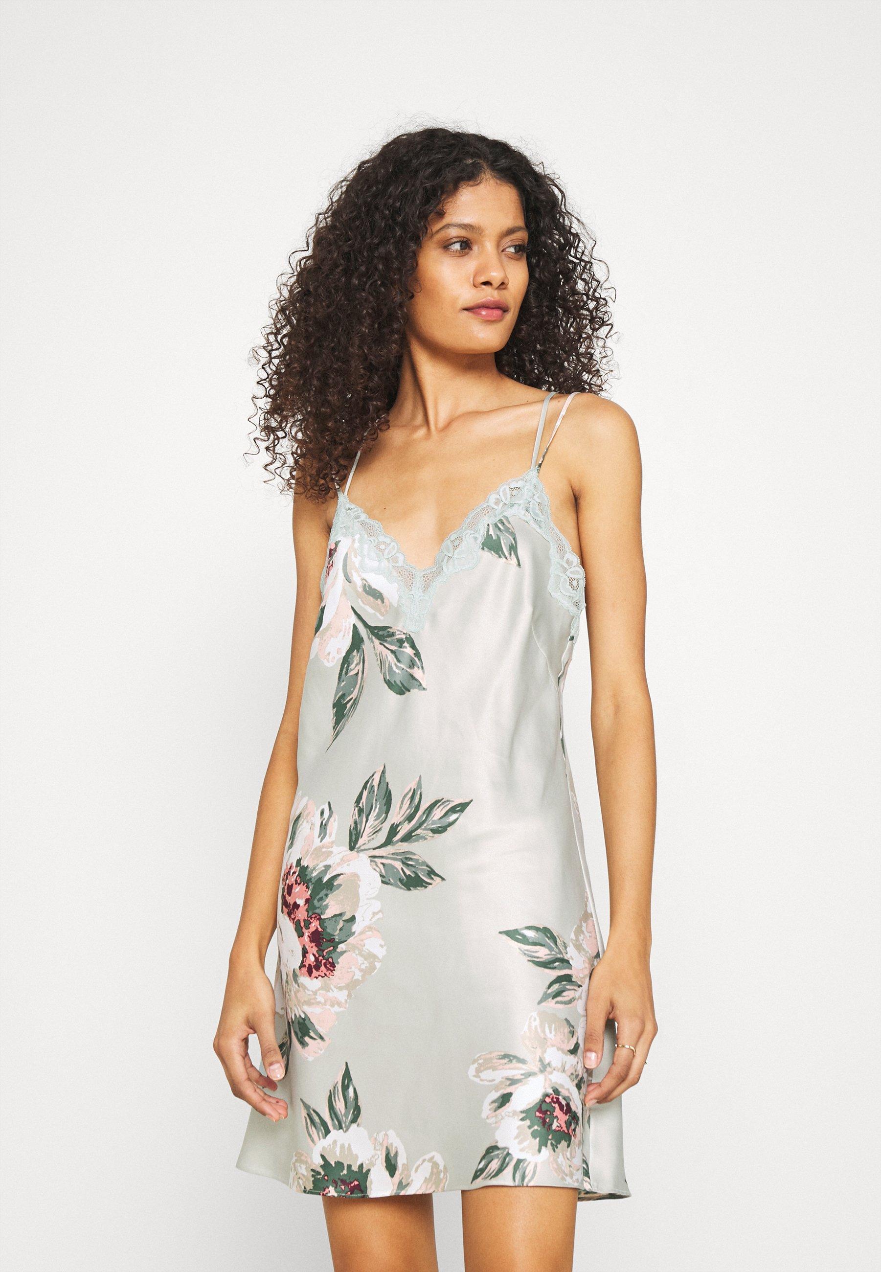 Damen PAINTED FLOWER - Nachthemd