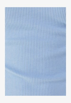Pouzdrové šaty - light blue