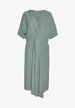 DRESS SOLO TWIST - Robe d'été - ivy green