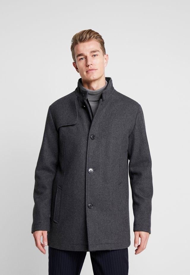 SLHHANNOVER COAT - Short coat - grey melange
