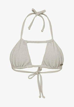OLIVIA - Bikini top - silver