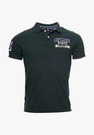 CLASSIC SUPERSTATE - Polo - dark forest