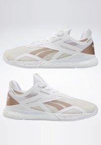 Reebok - REEBOK NANO X SHOES - Sneaker low - white - 6