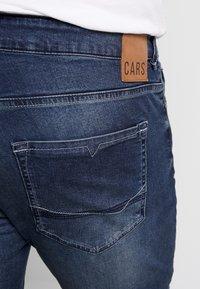 Cars Jeans - SHIELD PLUS - Slim fit jeans - dark used - 5