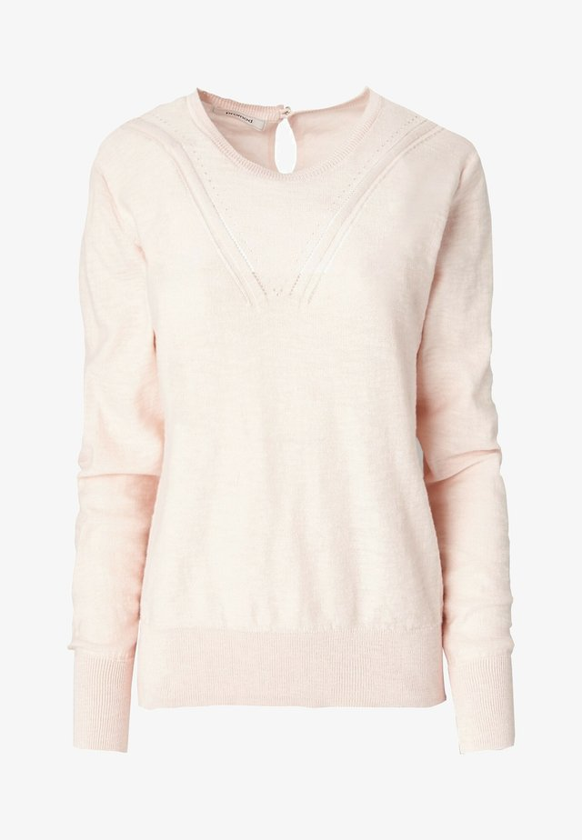 Pullover - rose pâle