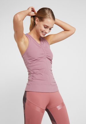 CLIMALITE WORKOUT TANK - Top - BLUMAU/GREY