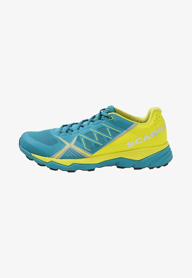 SPIN RS - Trail running shoes - blue bay/spring green