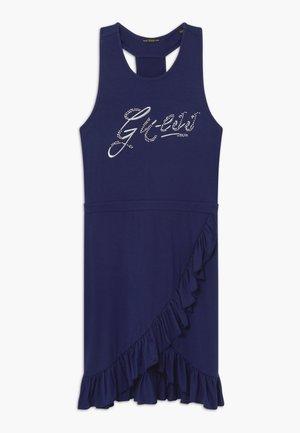 JUNIOR DRESS - Jersey dress - deck blue