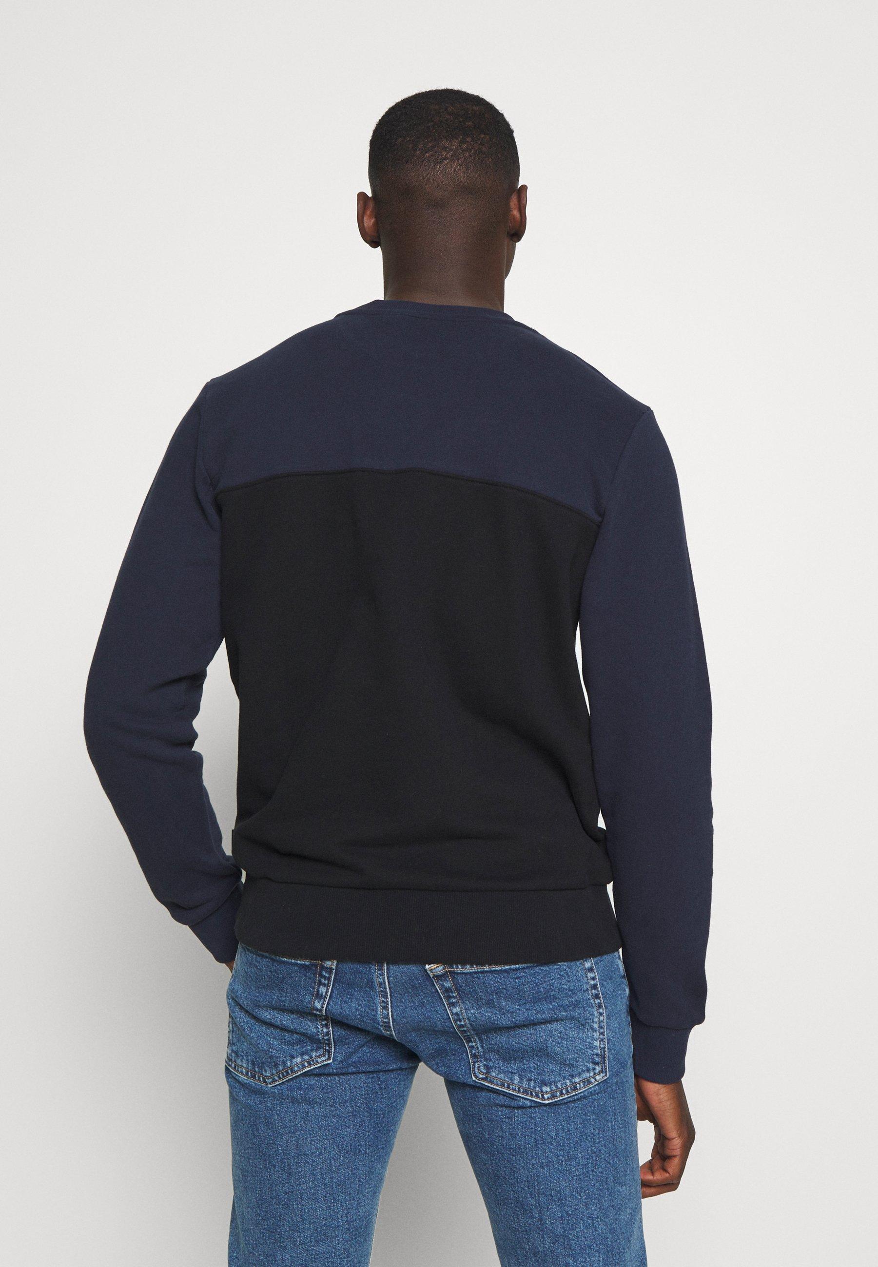 Calvin Klein COLOR BLOCK - Sweatshirt - blue