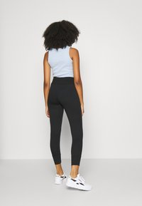 Even&Odd - High Waist Lightweight Slim Jogger - Tracksuit bottoms - black - 4